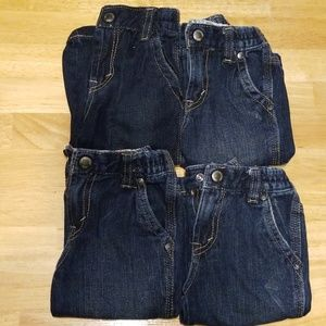 Lot of My first Levi's boy blue jeans